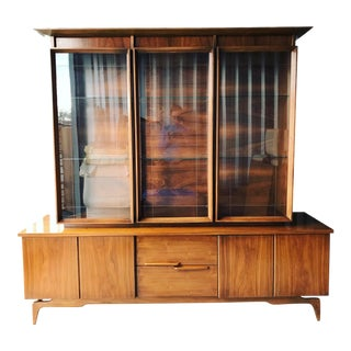 Mid Century Display Cabinet For Sale