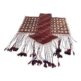 Vintage Turkish Anatolian Kilim Rug - 4′3″ × 6′ For Sale