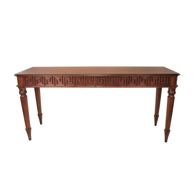 Hollywood Regency Style Console - Image 1 of 4