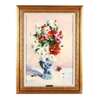 Gaston Sebire Signed Oil Painting For Sale