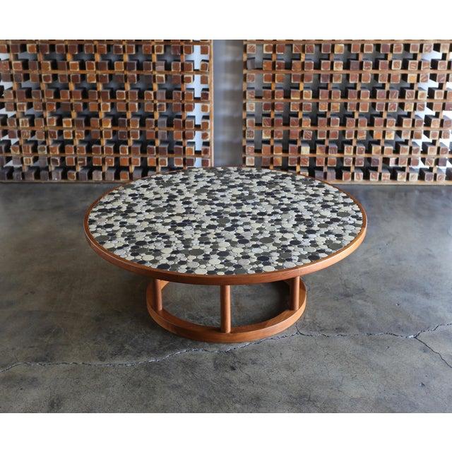 Jane & Gordon Martz Ceramic Tile Coffee Table for Marshall Studios, Circa 1960 For Sale - Image 10 of 11