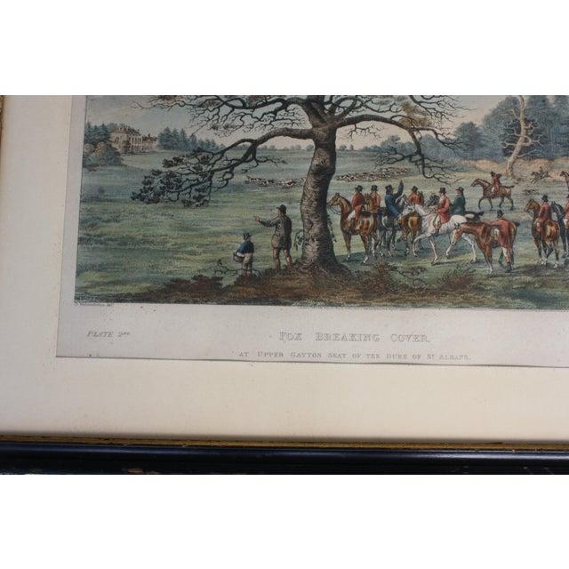 Cottage 1824 Tinted Framed Engraving After Dean Wolstenholme Jr [British 1798-1882] For Sale - Image 3 of 7