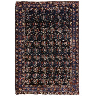 20th Century Persian Hamadan Rug - 4'4 X 6'4 For Sale