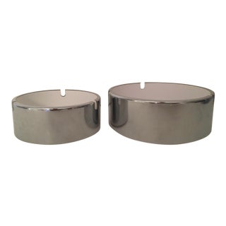 1970s Isamu Kenmochi Ashtrays-a Pair For Sale