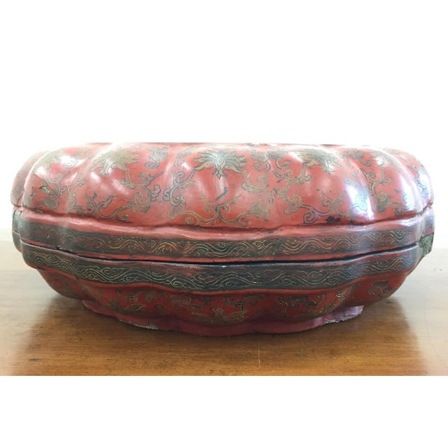 Antique Asian Sewing Box - Image 2 of 11