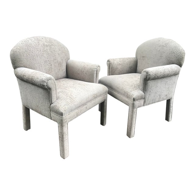 Contemporary Kravet Chairs - a Pair For Sale
