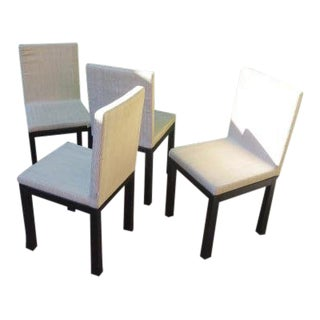 """Modern Armani Casa """"Otto"""" Dining Chairs - Set of 4 For Sale"""