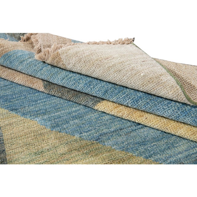 21st Century Modern Deco Wool Rug For Sale - Image 9 of 11