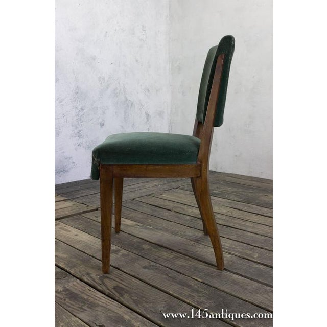 Set of Eight Dining Chairs, French, 1930s - Image 3 of 11