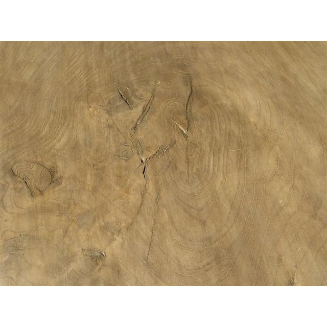 Antique Single Plank Chestnut Table From Spain For Sale - Image 9 of 10
