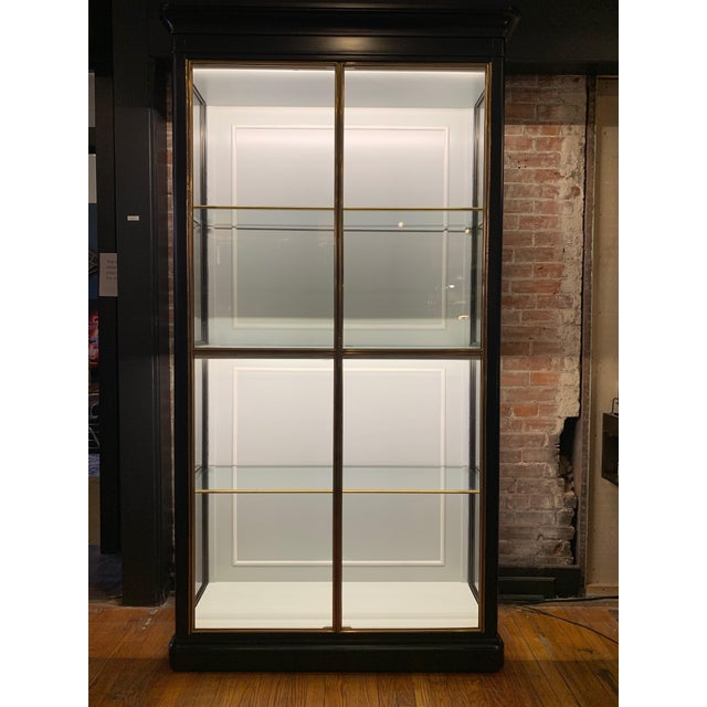 Fenwick Etagere Lighted Cabinet For Sale - Image 12 of 12