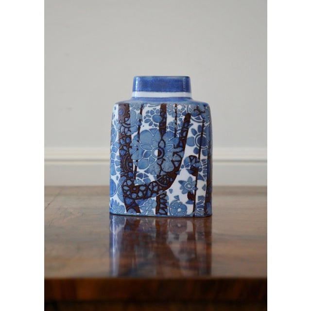 "1960s Nils Thorsson for Royal Copenhagen ""Baca"" Vase For Sale - Image 5 of 5"