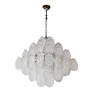 Venetian Vistosi Pagoda Chandelier For Sale