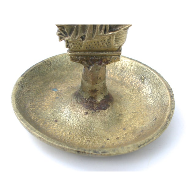 Brass Ship Dish - Image 8 of 9