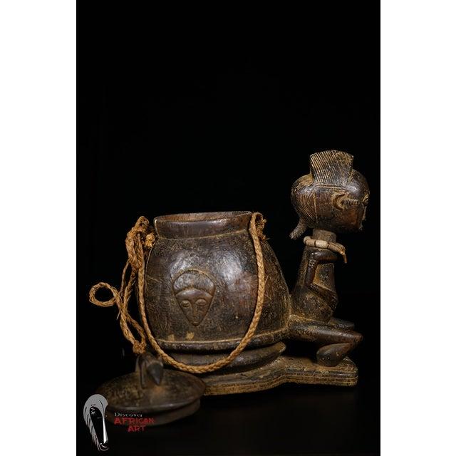 Baule African Tribal Divination Bowl - Image 10 of 11