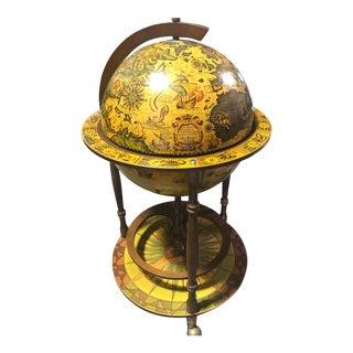 Vintage Italian Globe Bar For Sale