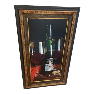 Thomas Stiltz Artist Proof Giclee Remarkable Cabernet Painting For Sale