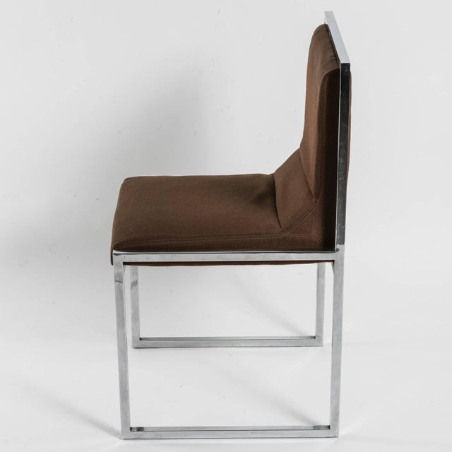 """Modern Unique Set of Six """"Wright/Wright"""" Chairs by Nanda Vigo for Driade For Sale - Image 3 of 10"""