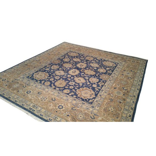 10 39 x 10 39 6 traditional rug hand knotted in fine wool in for 10 x 10 in square feet