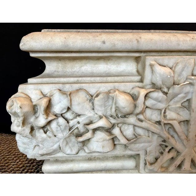 19th Century Marble Planter or Jardinière For Sale - Image 11 of 13