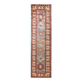 "One-of-a-Kind Traditional Hand-Knotted Runner 2' 10"" x 9' 9"" For Sale"