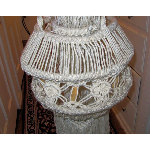 1970's Woven Yarn Hanging - Image 3 of 5