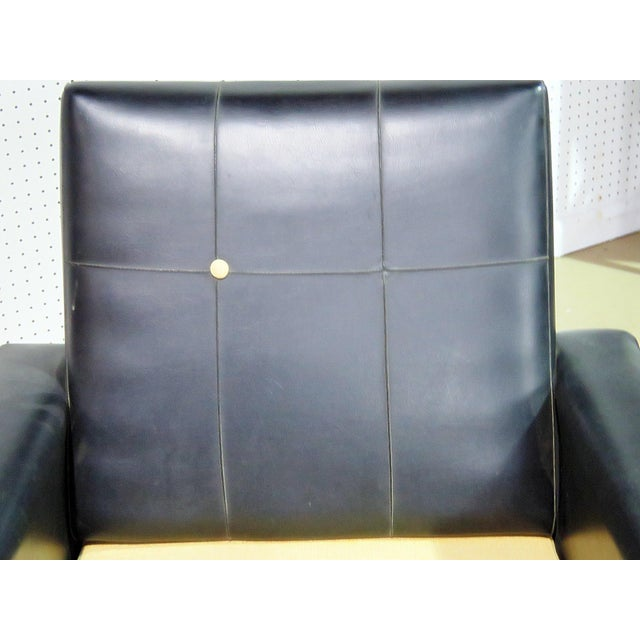 Metal Mid Century Vintage Italian Arm Chairs - a Pair For Sale - Image 7 of 11