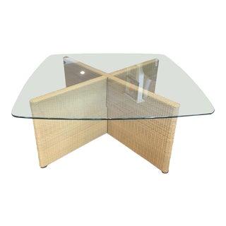 Rattan Table From Oscar De La Renta Collection for Century Furniture