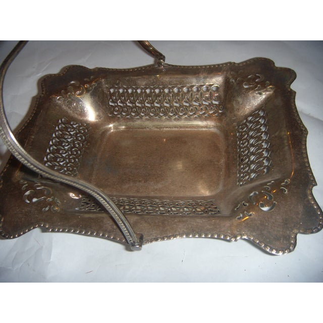 Leviathan Silver Plate Fruit Basket - Image 5 of 10