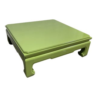 Lacquered Vintage Henredon Ming Table For Sale