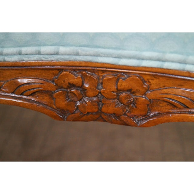 Vintage French Louis XV Style Window Bench For Sale - Image 9 of 10