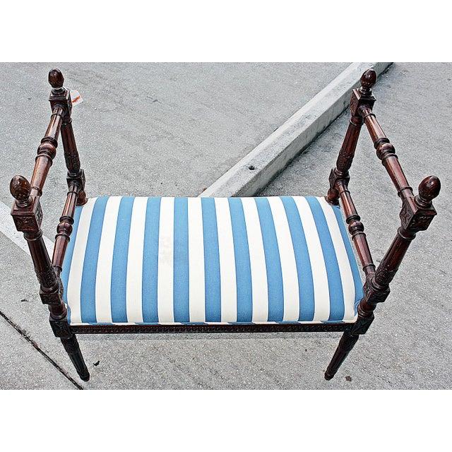 Louis XVI Style Bench - Image 5 of 7