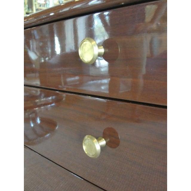 Drexel Stewart Macdougall Walnut Sideboard for Drexel For Sale - Image 4 of 7