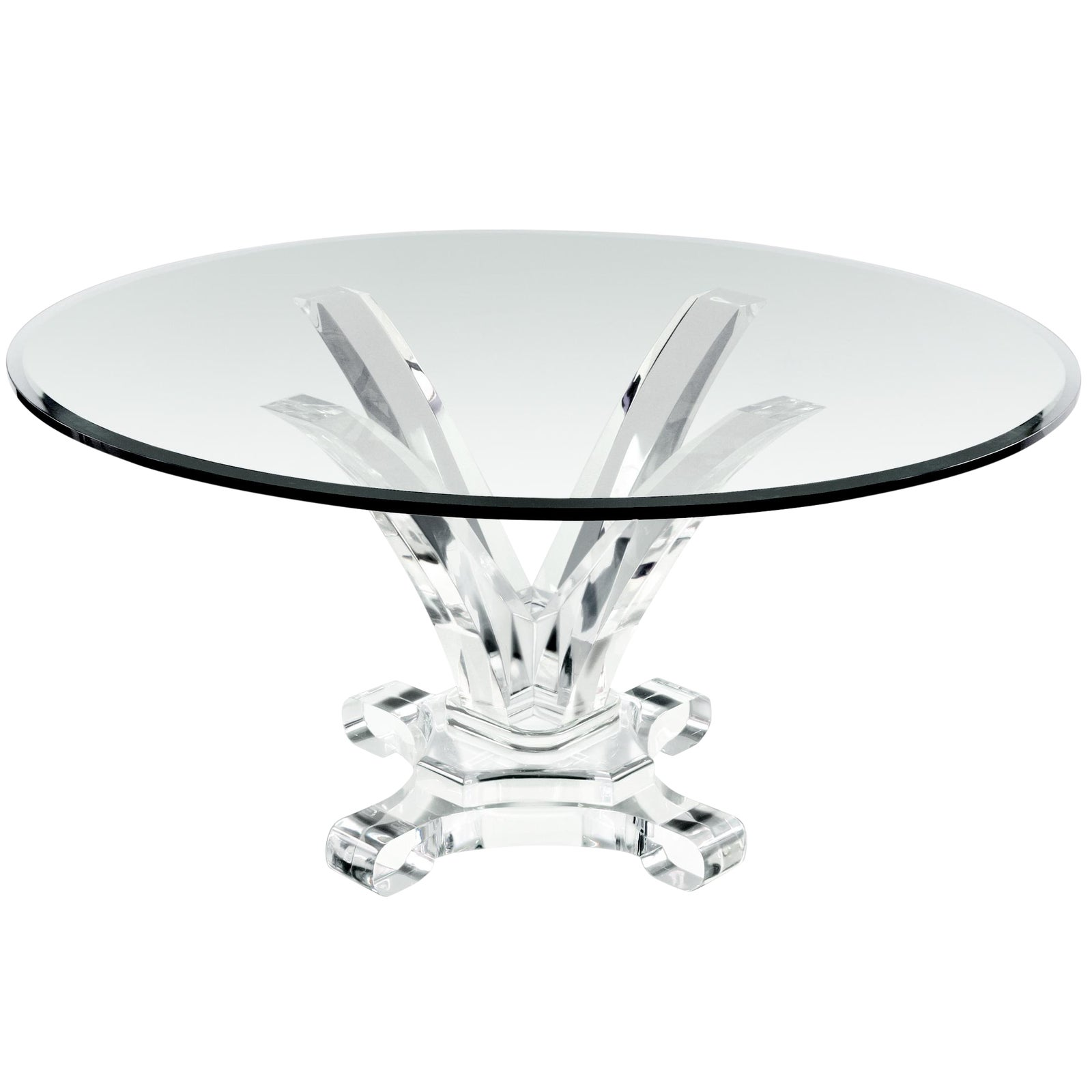 Distinguished Customizable The Delfine Dining Table