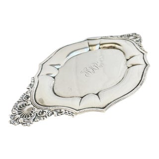 Antique Tiffany & Co Sterling Silver Tray For Sale