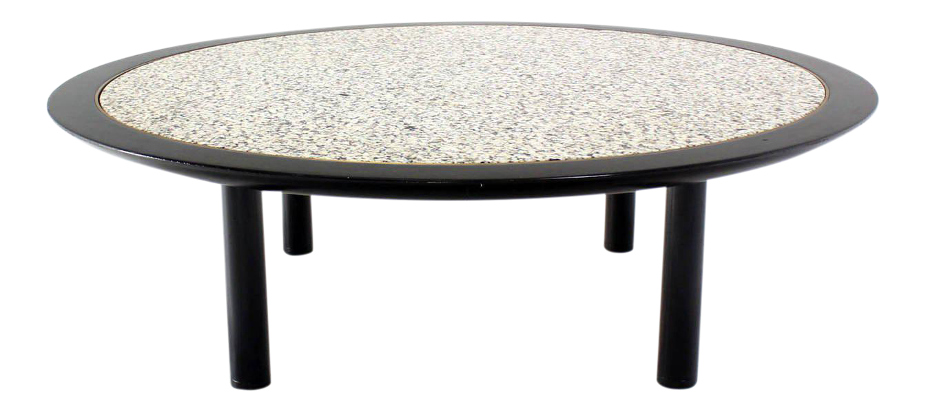 Attractive Incredible 48 Inches Round Mid Century Modern Coffee Table By Baker | DECASO