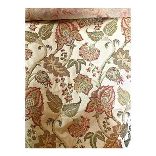 Paisley Embroidery Textile Roll