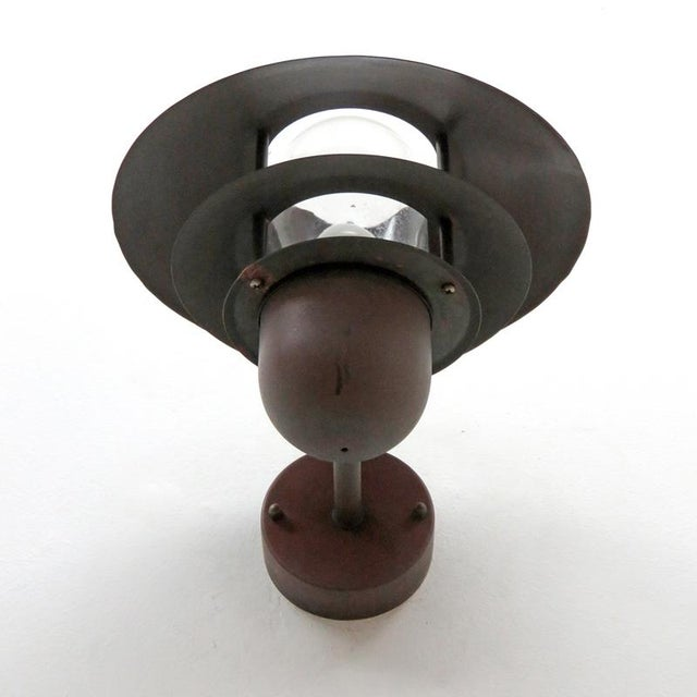Metal Nordlux Danish Outdoor Wall Lights - a Pair For Sale - Image 7 of 11