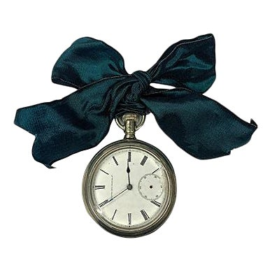 1920s Mens Pocket Watch Ornament For Sale