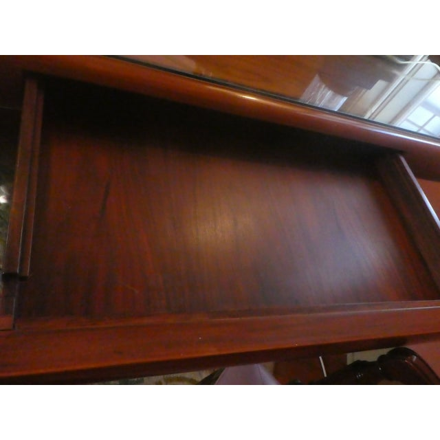 Dyrlund Rosewood Executive Desk - Image 4 of 10