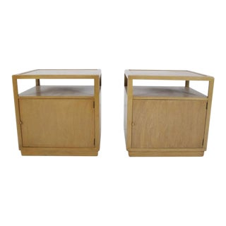 Dunbar Nightstands by Edward Wormley - a Pair For Sale