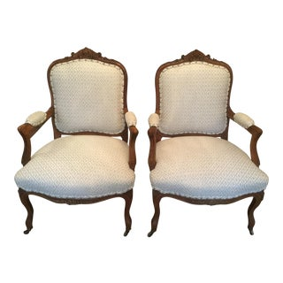 Late 19th Century French Chairs - a Pair For Sale