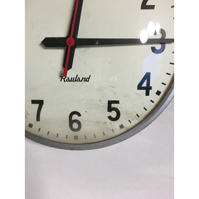 Vintage Rauland School Clock - Image 7 of 8