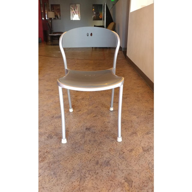 Arper Pamplona Aluminum Chairs - Set of 10 - Image 7 of 7