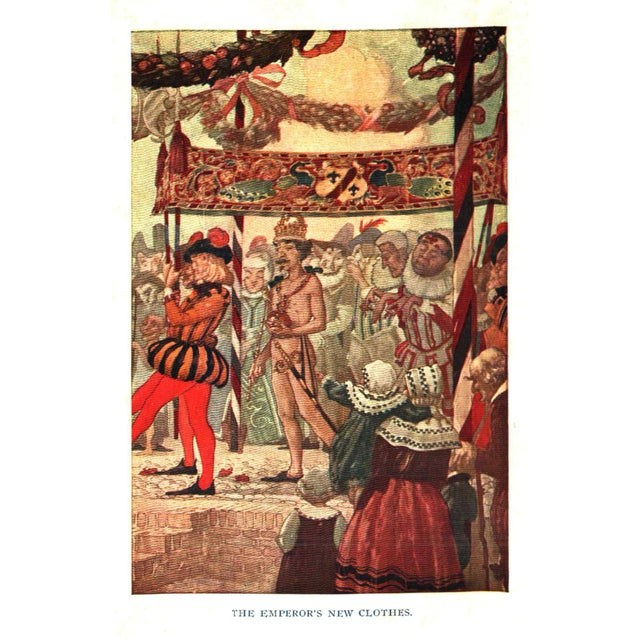 """Traditional 1923 """"Hans Andersen's Fairy Tales"""" Collectible Book For Sale - Image 3 of 4"""