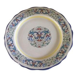 Italian Meridiana Decorative Plate For Sale