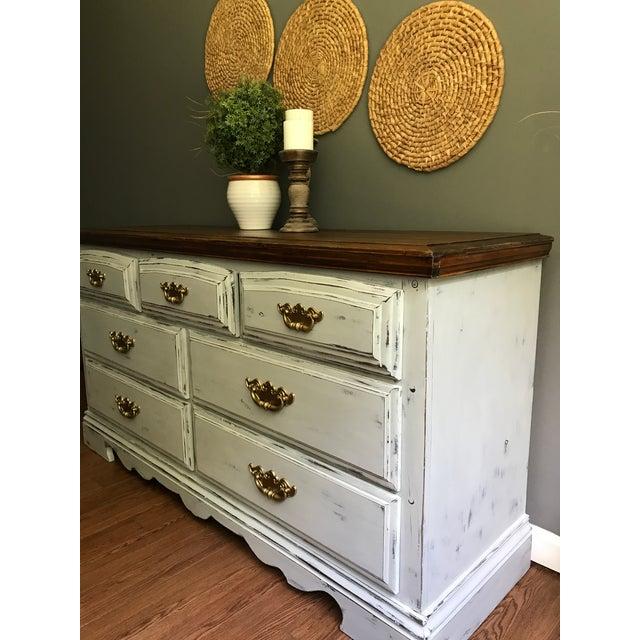 Vintage Distressed Dresser - Image 8 of 11