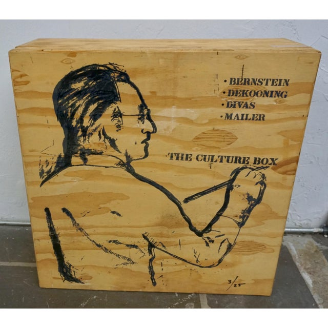 Larry Rivers Steel Painted Pieces in Original Plywood Box- Set of 4 For Sale In Palm Springs - Image 6 of 10