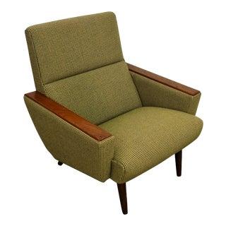"Original Danish Mid Century Modern Lounge Chair - ""Gavnø"" For Sale"