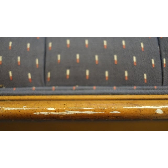 Exquisite Victorian French Provincial Button Tufted Sofa - Image 8 of 9